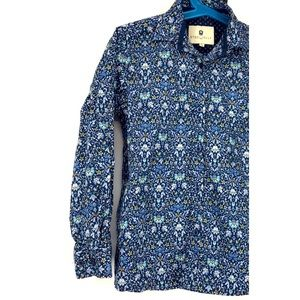 Steel & Jelly button down shirt kid boy 7-8 small